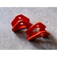Кронштейны переноса передних амортизаторов (низ) комплект 2 шт.